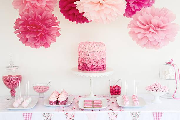 Ideas baby shower centro de mesa flores tarta