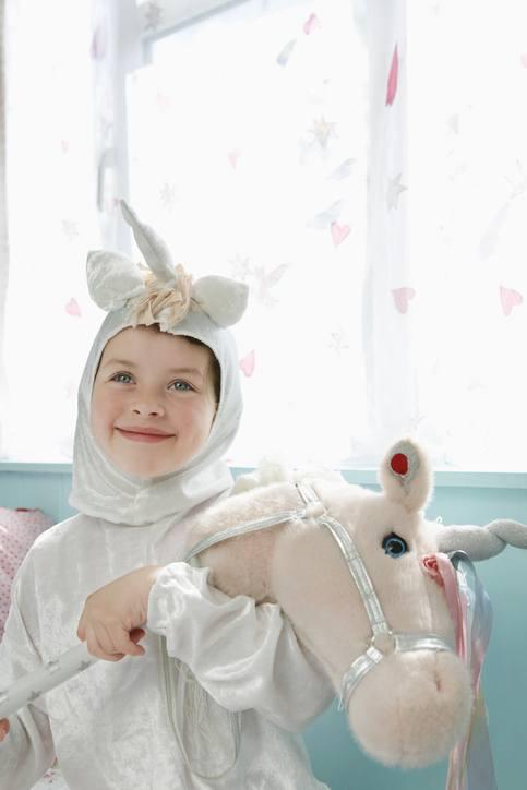 Como hacer un disfraz de unicornio para nina