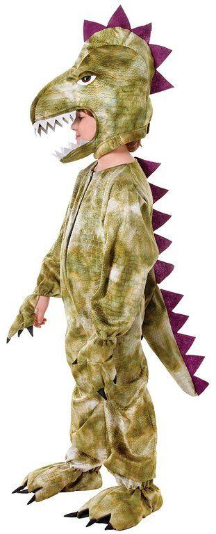 Disfraz de dinosaurio para ninos casero de carton