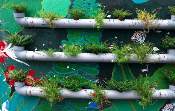manualidades-para-el-dia-de-la-tierra-tuberias-con-flores-istock