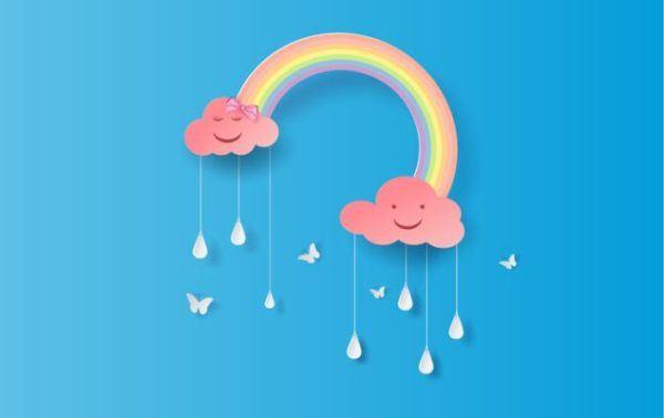 manualidades-para-el-dia-del-agua-arcoiris-istock
