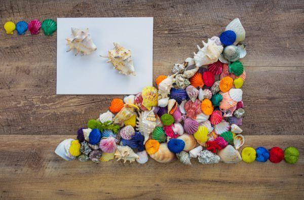 manualidades-para-el-dia-del-medio-ambiente-conchas-de-color-istock