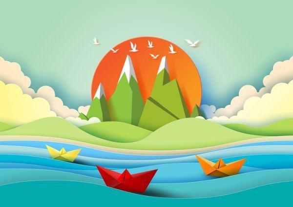 manualidades-para-el-dia-del-medio-ambiente-paisaje-istock