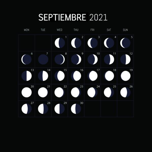 Calendario Lunar 2021-SEPTIEMBRE