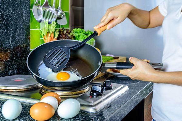 Huevo frito el embarazo