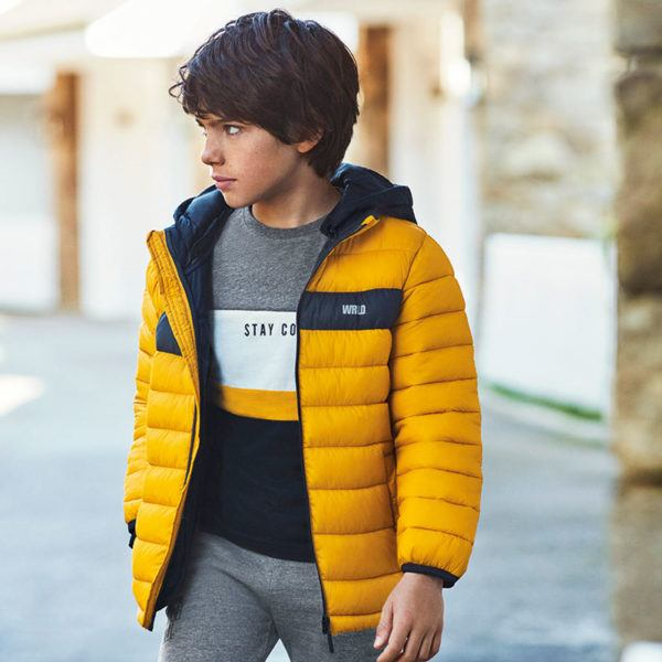 Mayoral rebajas de verano para ninos y ninas invierno 2021 chaqueta acolchada adolescente