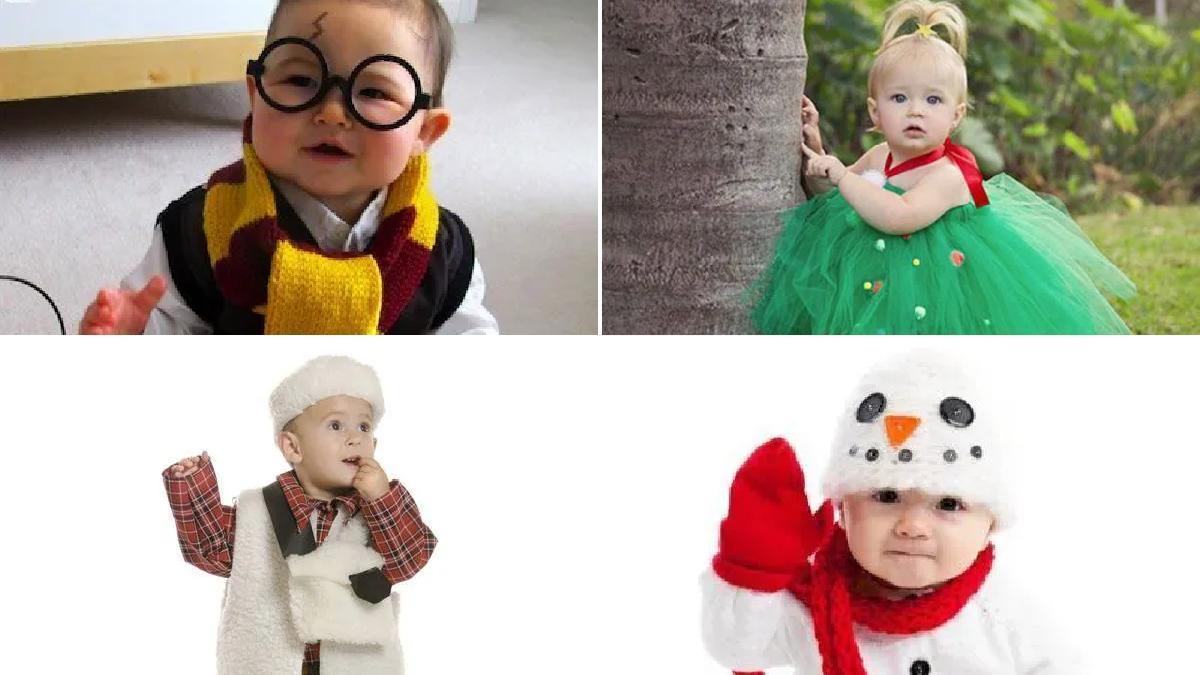 10 Disfraces De Navidad Caseros Para Bebés 2020 Embarazo10 Com