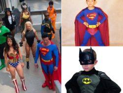 Disfraces de la Liga de la Justicia para Halloween 2021 para niños