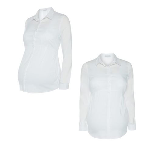 Camisa blanca premamá primark