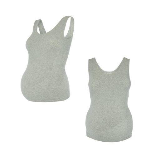 Camiseta gris premamá gris