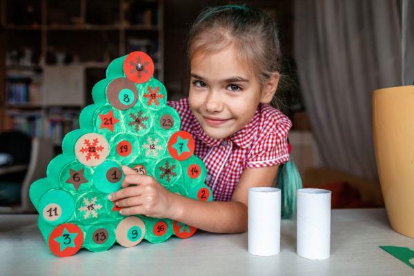 Manualidades de navidad para ninos 2020 2021 calendario