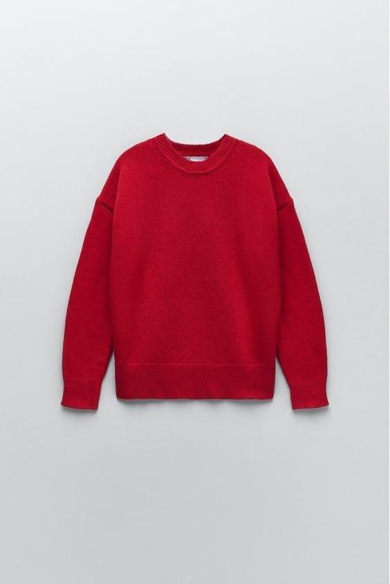 Catalogo zara premama otoño invierno jersey oversize