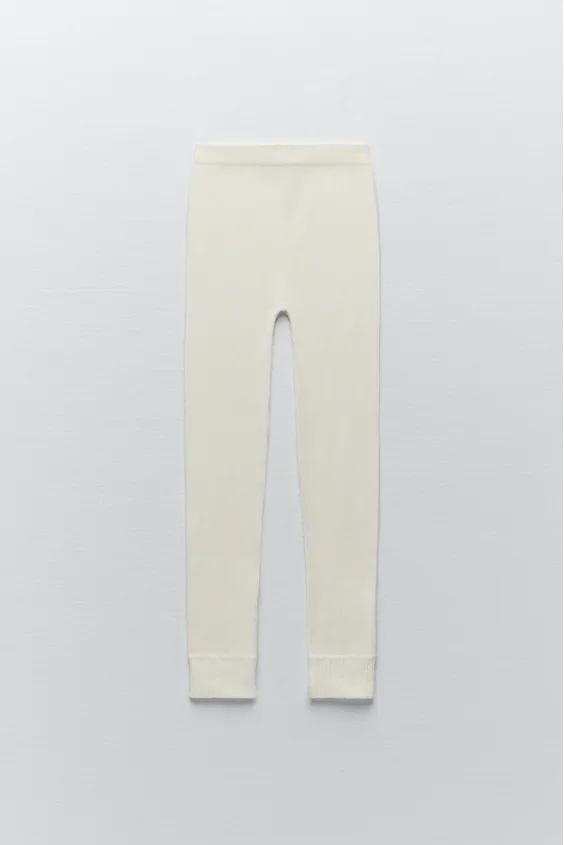Catalogo zara premama otoño invierno leggings seamless