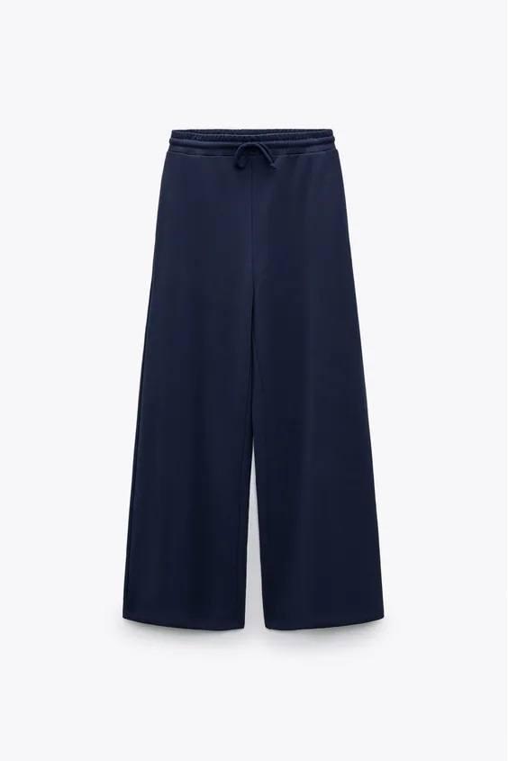 Catalogo zara premama otoño invierno pantalon felpa