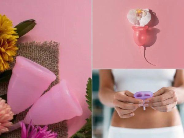 Talla de copa menstrual