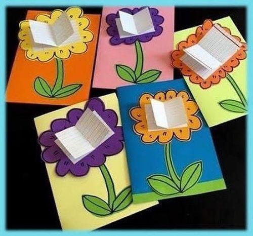 Marcapáginas flores