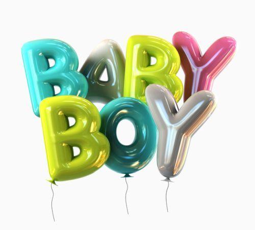 Globos baby boy