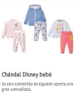Chándal Disney bebé Lidl