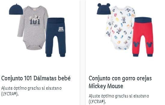 Conjuntos para bebé Lidl