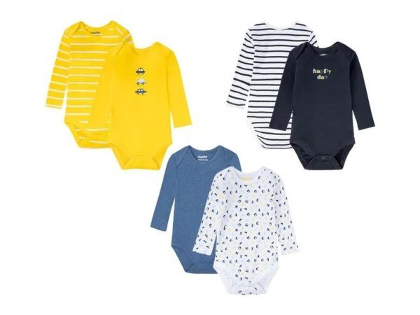 Catalogo ropa lidl bebe otoño invierno 2021 2022 body colores