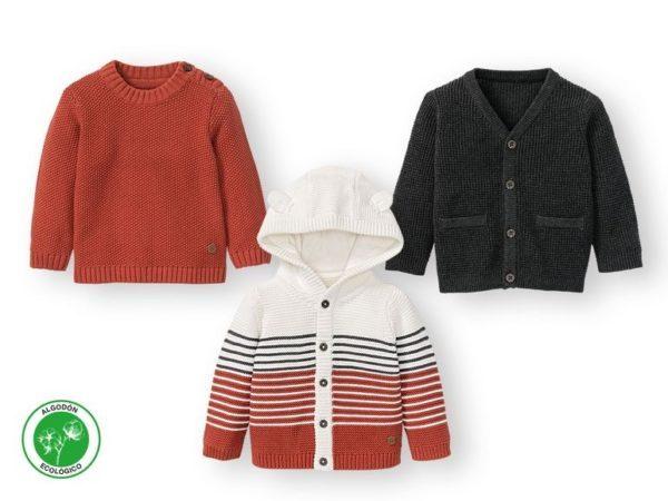 Catalogo ropa lidl bebe otoño invierno 2021 2022 chaquetas punto