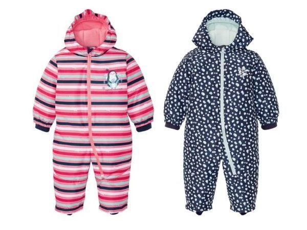 Catalogo ropa lidl bebe otoño invierno 2021 2022 conjunto invierno