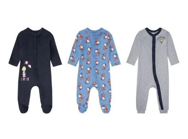 Catalogo ropa lidl bebe otoño invierno 2021 2022 pijama manga larga niño