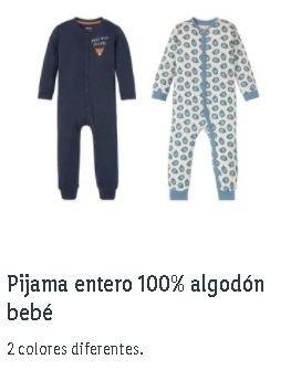 Pijama bebé Lidl