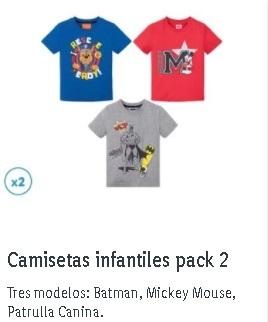 Camisetas Lidl niño