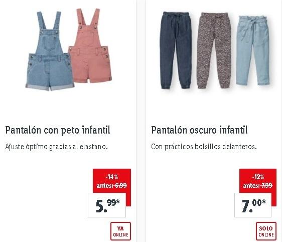 Pantalones niño Lidl