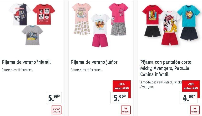 Pijamas niño Lidl
