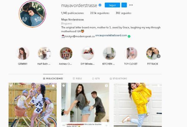 Cuentas de Instagram para embarazada
