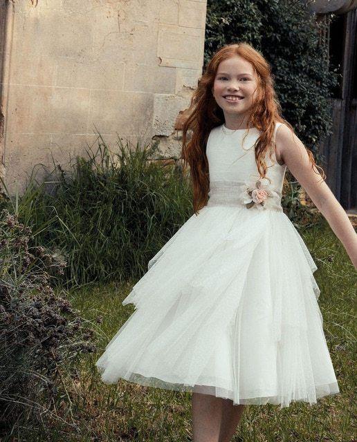 Vestidos comunion 2021 el corte ingles tizzas modelo abby