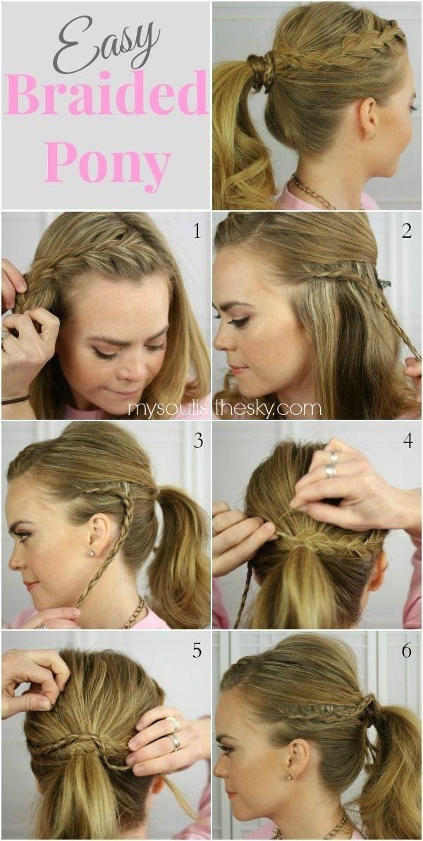Tutoriales de peinados de vuelta al cole para pelo largo