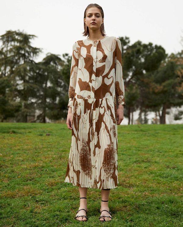 Catalogo EL CORTE INGLES otoño invierno 2021 2022 vestido fiesta