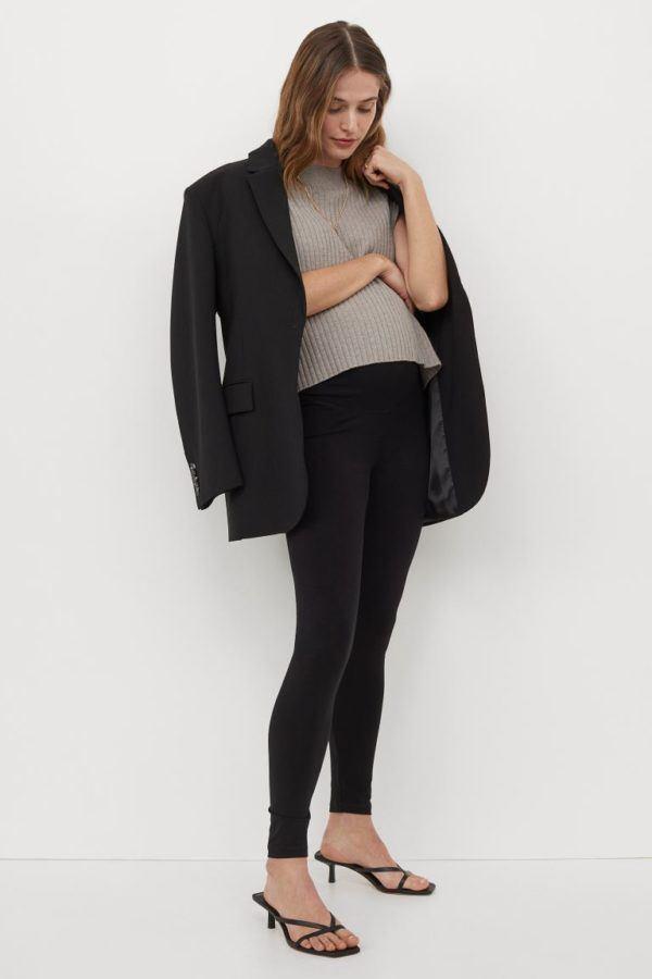 Catálogo H&M Premamá Otoño Invierno 2021 2022 pantalon leggings