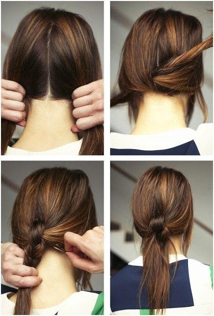 Peinados de coleta fáciles y bonitos para mujeres y niñas