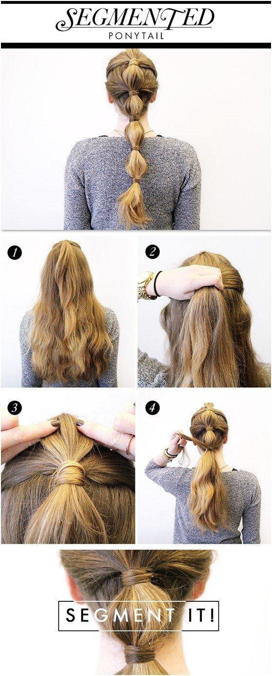 Tutorial de peinado de cola de caballo para las fiestas: Ideas para el pelo largo