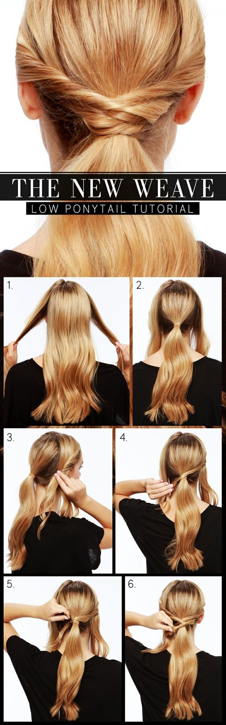 Preciosos y útiles tutoriales de peinados con coletas