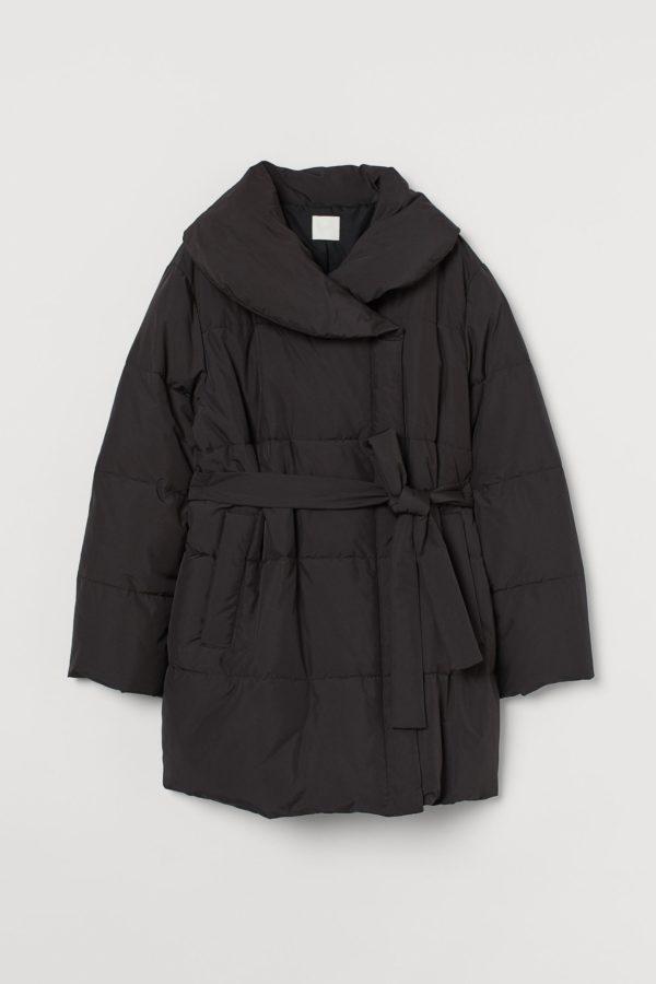 Abrigos premama donde comprar H&M abrigo acolchado negro