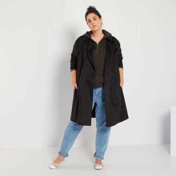 Abrigos premama donde comprar KIABI abrigo gabardina efecto ante