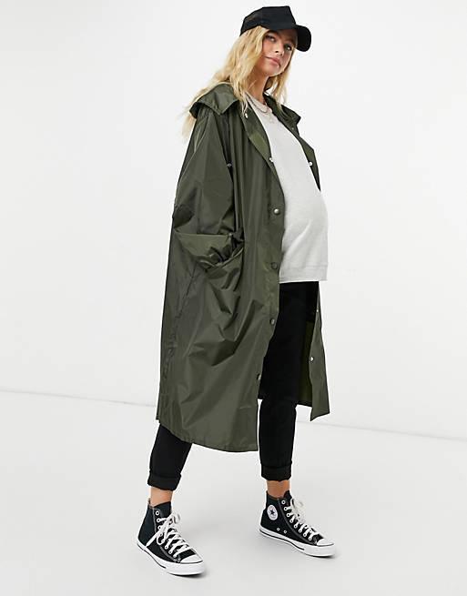 Abrigos premama donde comprar asos abrigo chubasquerp verde
