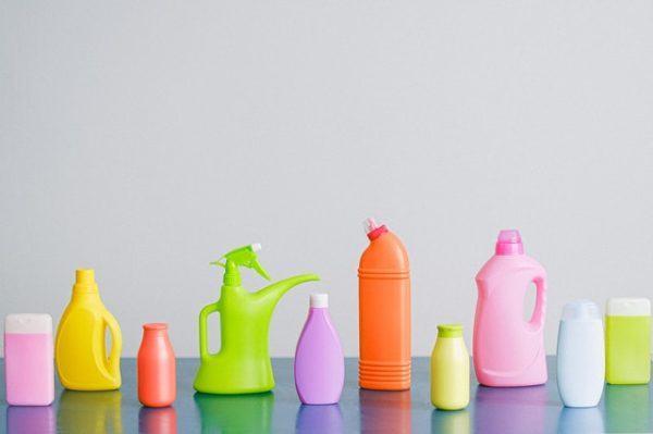 Botellas de colores