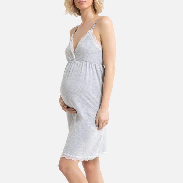 Camisones premama donde comprar La redoute Camisón corto de embarazo lactancia