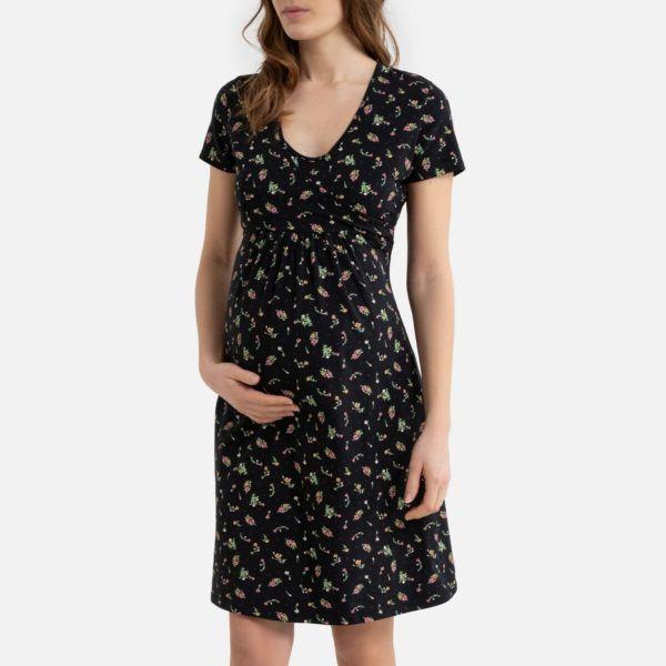 Camisones premama donde comprar La redoute Camisón de embarazo estampado de algodón orgánico
