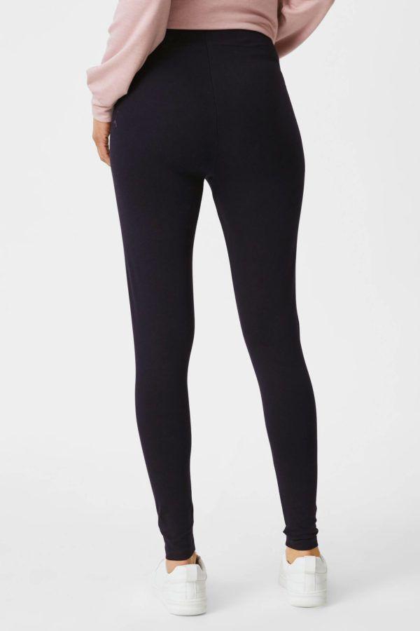Catalogo cya premama otoño invierno 2021 2022 pantalones leggings negro