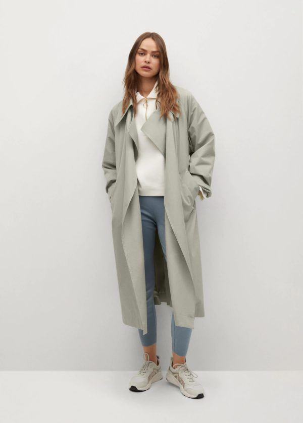 Catalogo mango premama abrigo trench