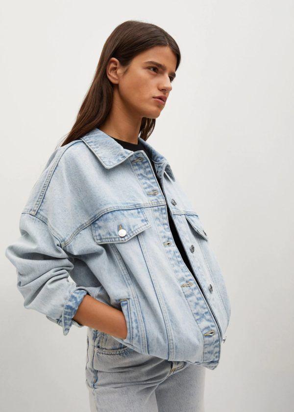 Catalogo mango premama chaqueta denim