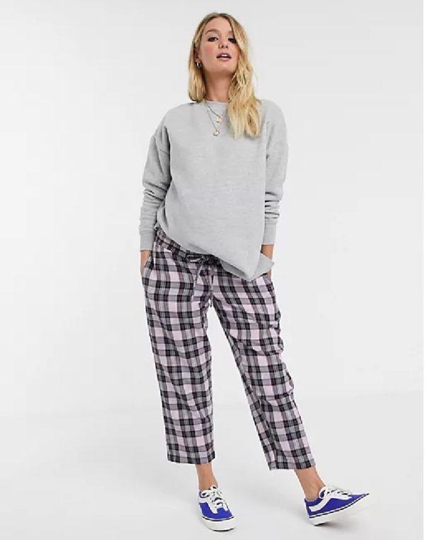 Pantalones cortos donde comprar ASOS pantalon cuadros