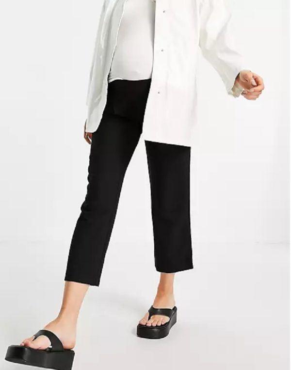 Pantalones cortos donde comprar ASOS pantalon negro recto